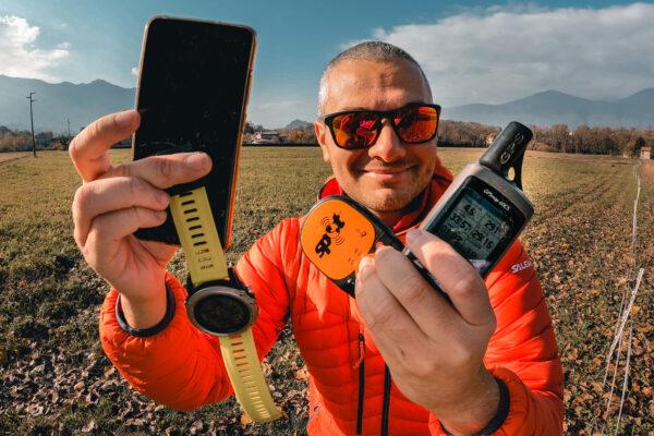 Differenti modelli di GPS per il trekking